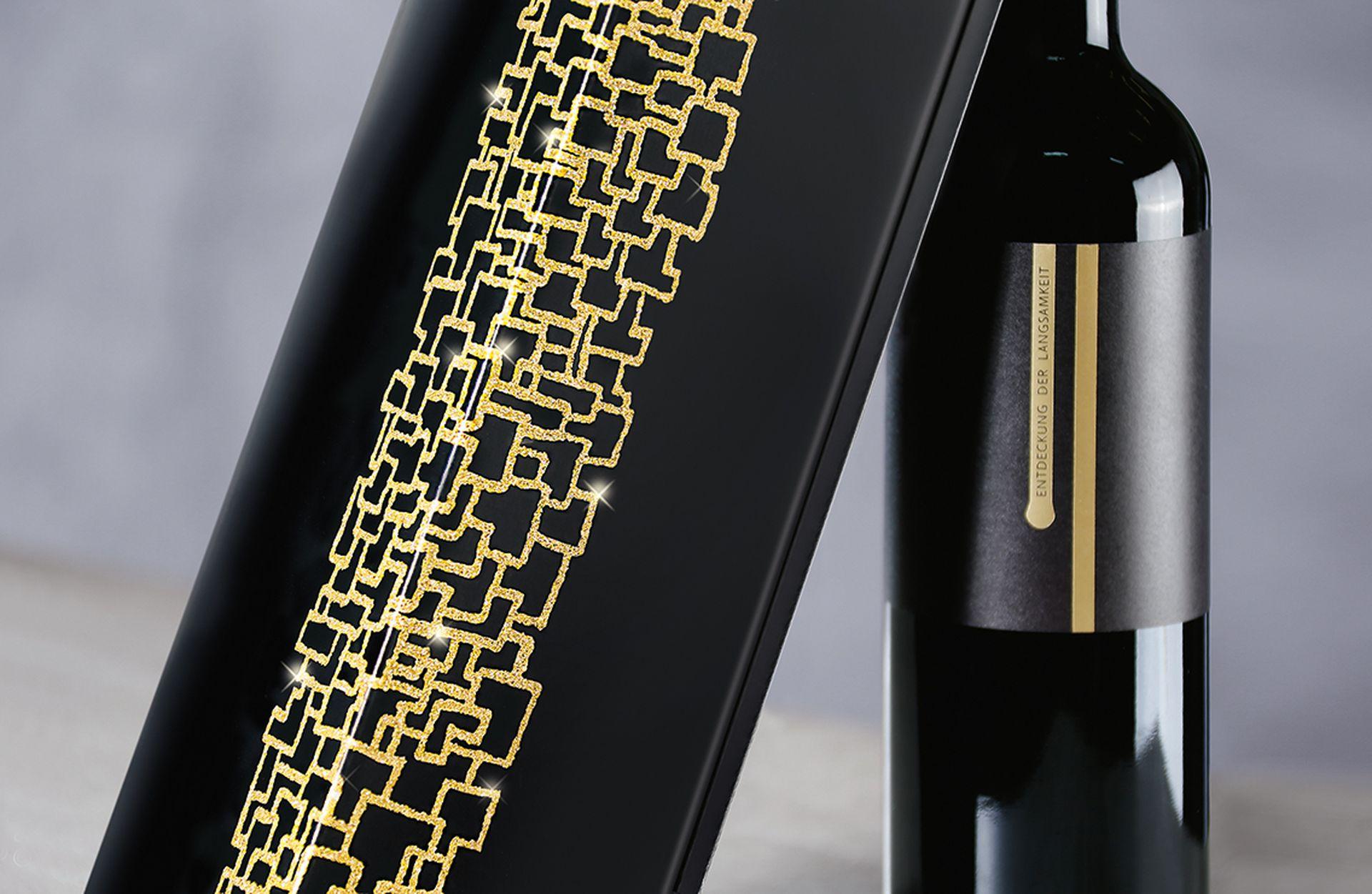Opakowanie prezentowe na wino, seria Opus