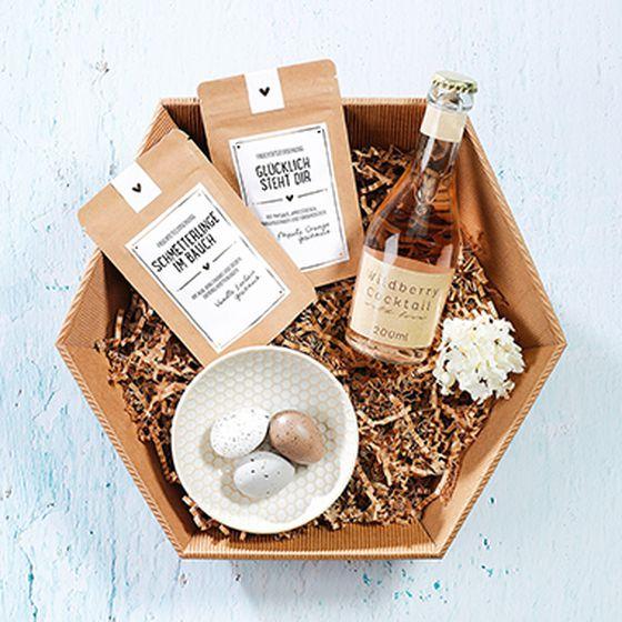 Emballage-cadeau hexagonal Natura