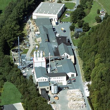 Fabriek II Kartonerzeugung Schwarzenberg