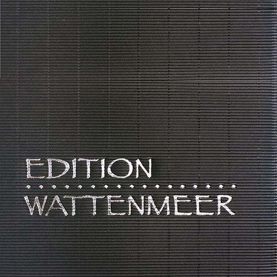 Emballage-cadeau avec dorure à chaud personnalisée pour l'édition Wattenmeer