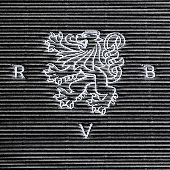 Emballage-cadeau avec dorure à chaud personnalisée avec lion RVB