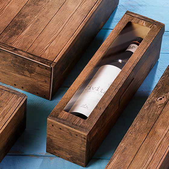 Opakowanie prezentowe na butelki, seria Vintage z Civita