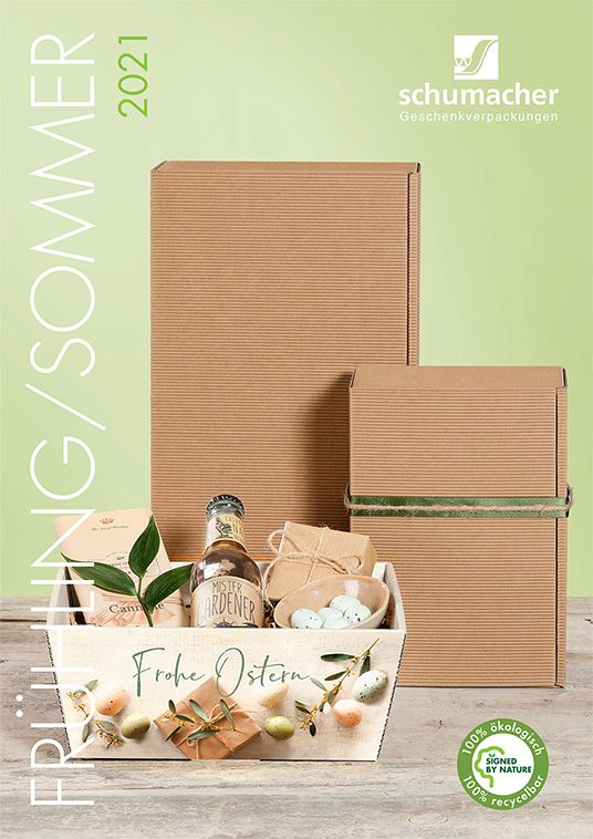 Katalog Schumacher Packaging Special Frühling/ Sommer 2021