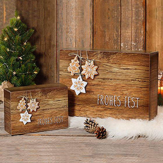 Emballage-cadeau Noël Joyeuses fêtes