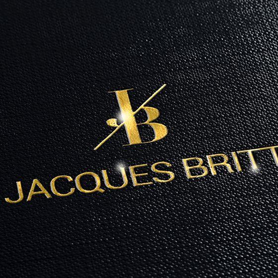 Emballage-cadeau avec dorure à chaud personnalisée pour Jacques Britt