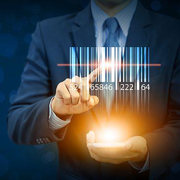 Digitaal printen van barcodes