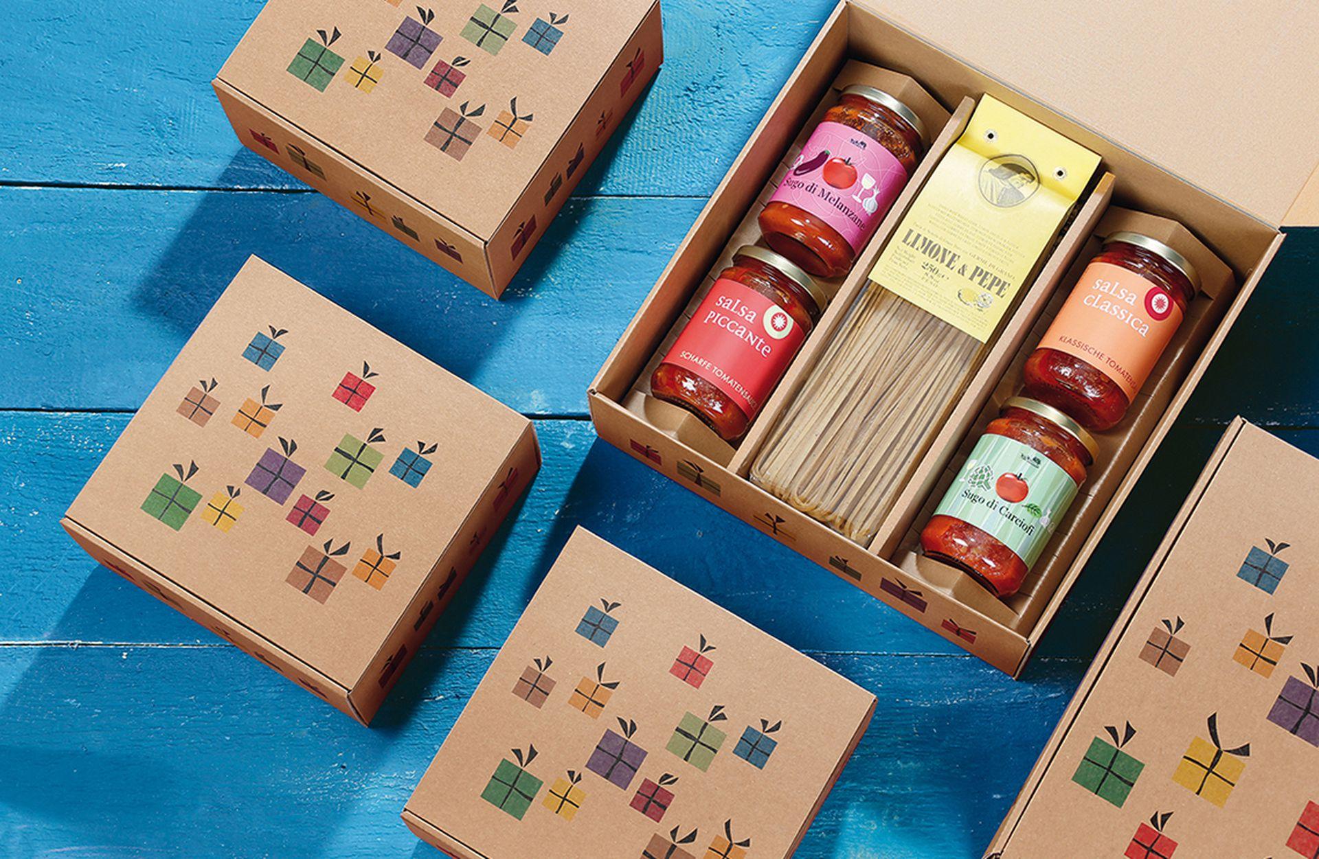 Gift box, printed, Surprise